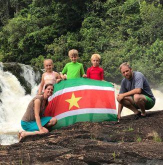 Familie vakantie naar Suriname